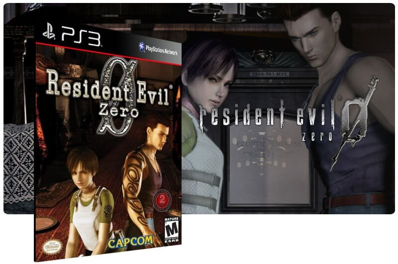 Banner do game Resident Evil 0 para PS3