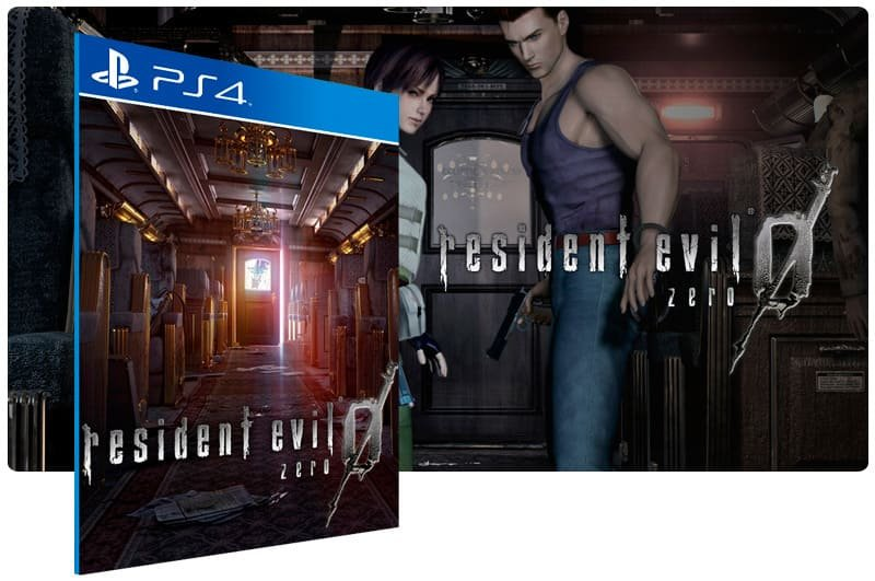Banner do game Resident Evil 0 para PS4