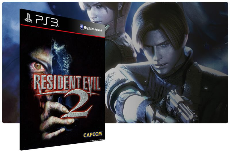 Banner do game Resident Evil 2 para PS3