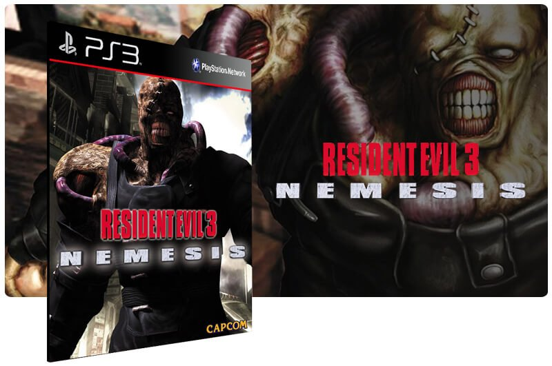 Banner do game Resident Evil 3 para PS3