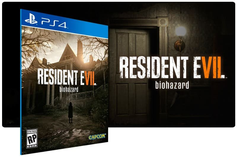 Banner do game Resident Evil 7 Biohazard para PS4