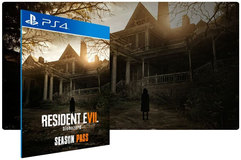 Banner do game Resident Evil 7 biohazard Season Pass para PS4
