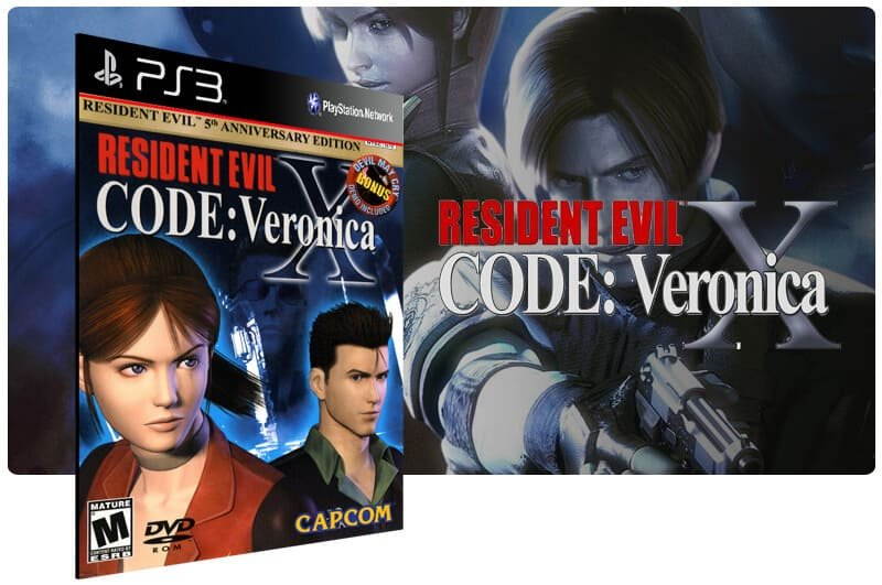 Banner do game Resident Evil Code Veronica X  para PS3