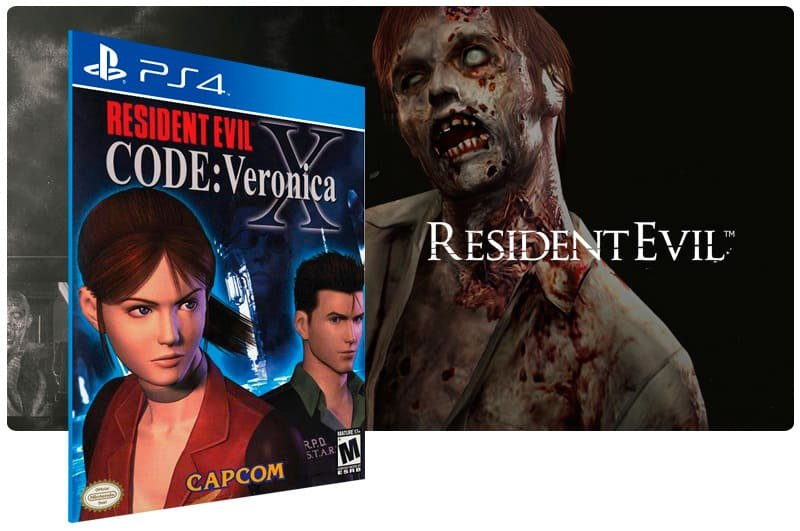 Banner do game Resident Evil Code: Veronica X para PS4