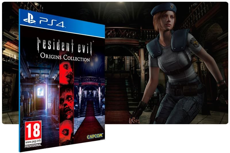 Banner do game Resident Evil Deluxe Origins Bundle para PS4