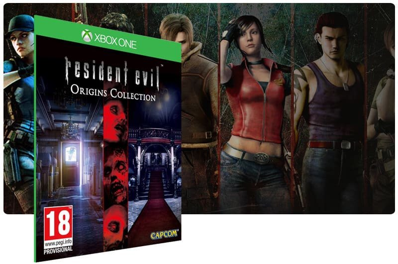 Banner do game Resident Evil: Deluxe Origins Bundle em mídia digital para Xbox One