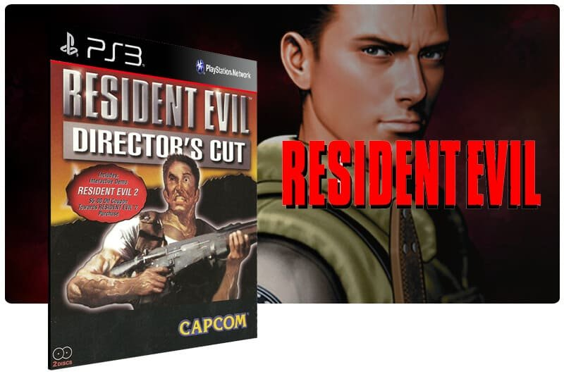 Banner do game Resident Evil Directors Cut para PS3