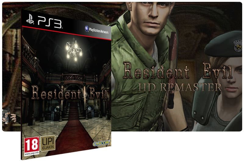 Banner do game Resident Evil HD Remaster para PS3