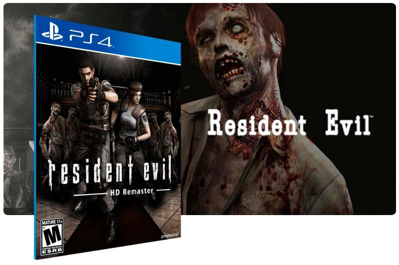 Banner do game Resident Evil Hd Remaster para PS4
