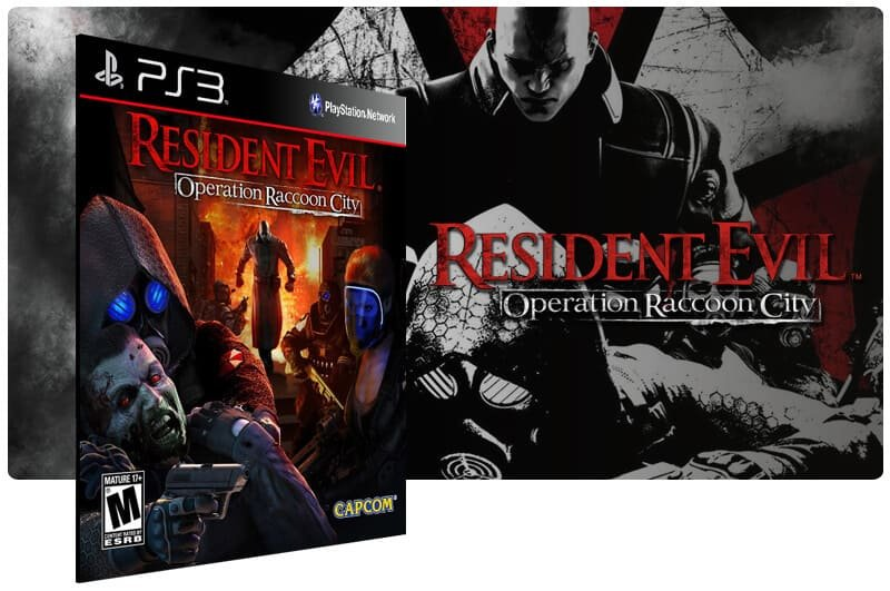 Banner do game Resident Evil Operation Raccoon City para PS3