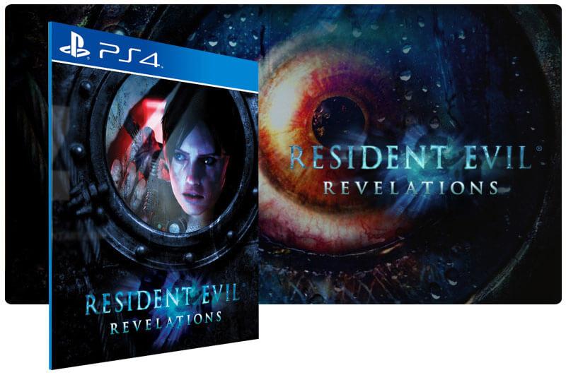 Banner do game Resident Evil Revelations para PS4