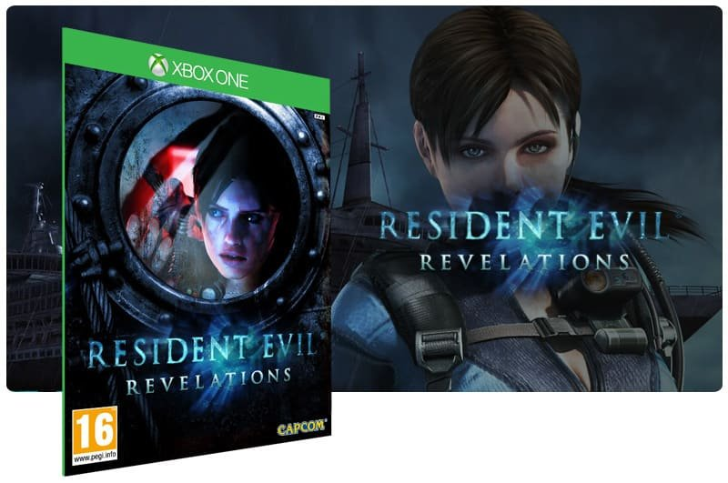 Banner do game Resident Evil: Revelations em mídia digital para Xbox One