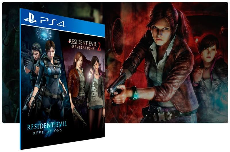 Banner do game Resident Evil Revelations 1 & 2 Bundle para PS4