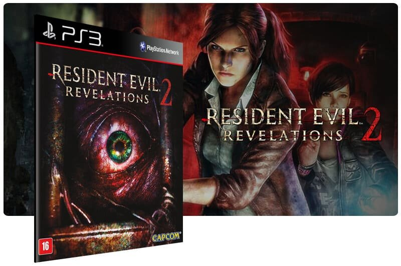 Banner do game Resident Evil Revelations 2 para PS3