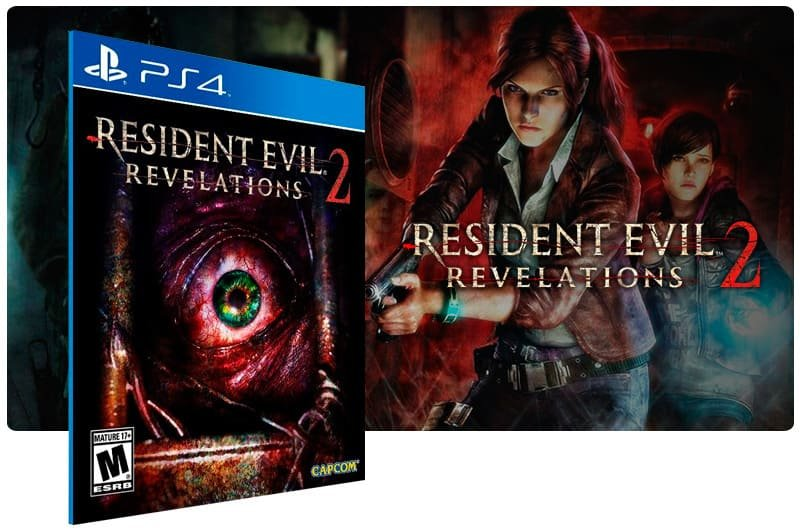 Banner do game Resident Evil Revelations 2 para PS4