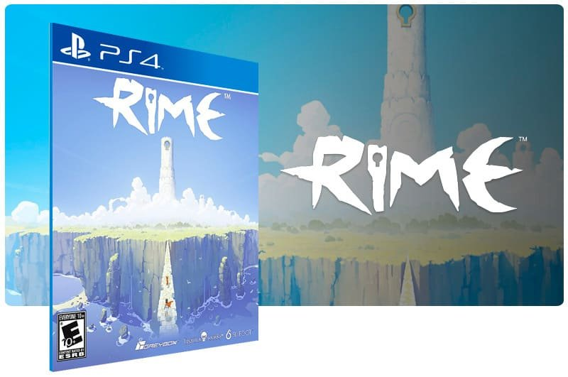 Banner do game Rime para PS4