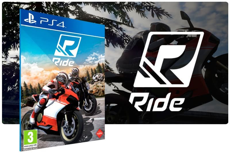 Banner do game Ride para PS4