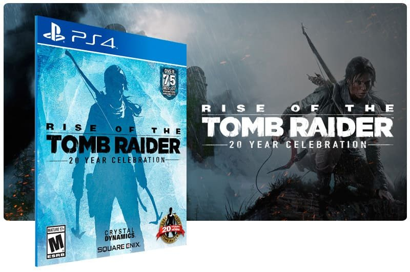 Banner do game Rise of The Tomb Raider: 20 Year Celebration para PS4