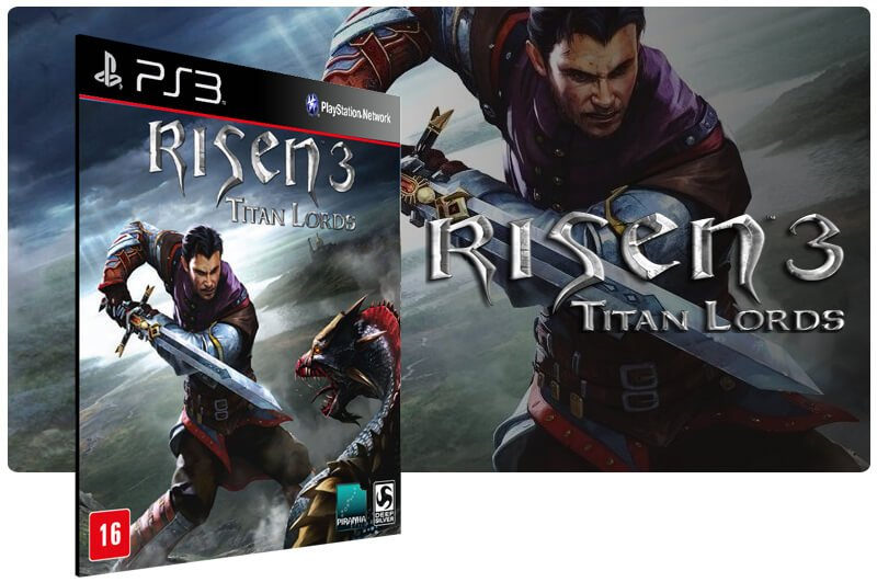 Banner do game Risen 3 Titan Lords para PS3