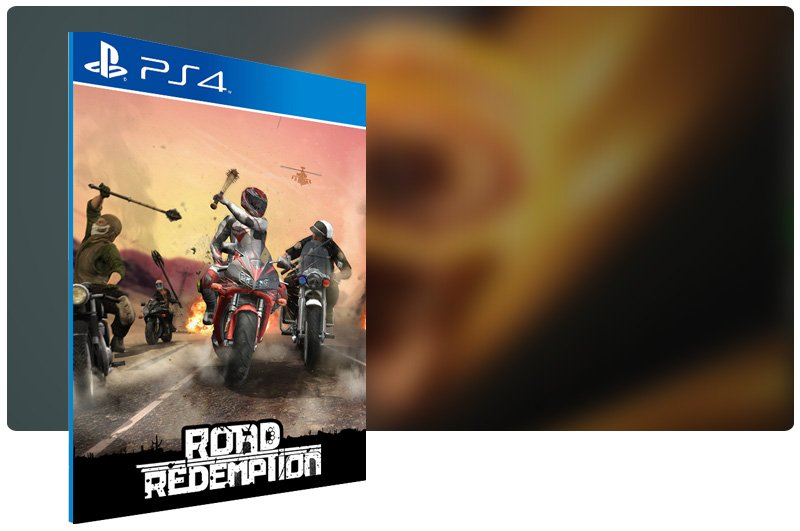 Banner do game Road Redemption para PS4