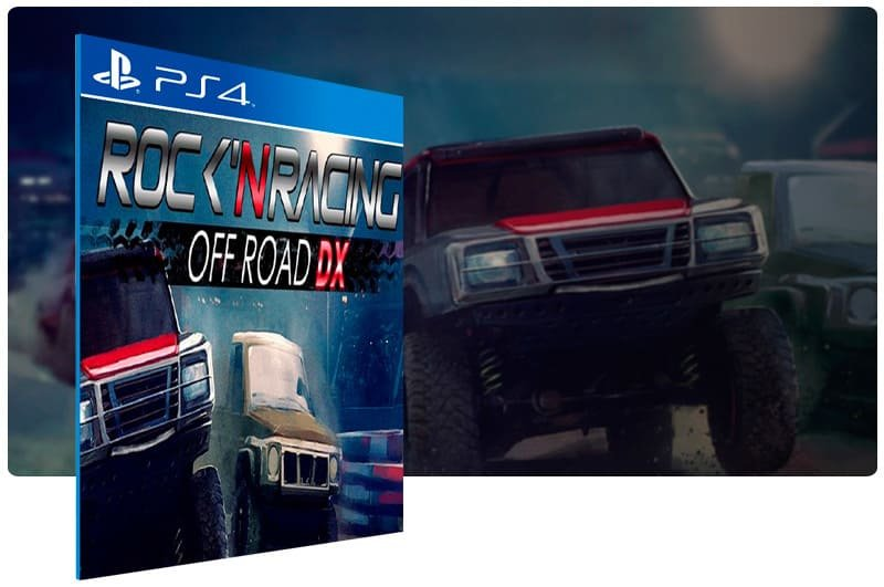 Banner do game Rock'N Racing Off Road Dx para PS4