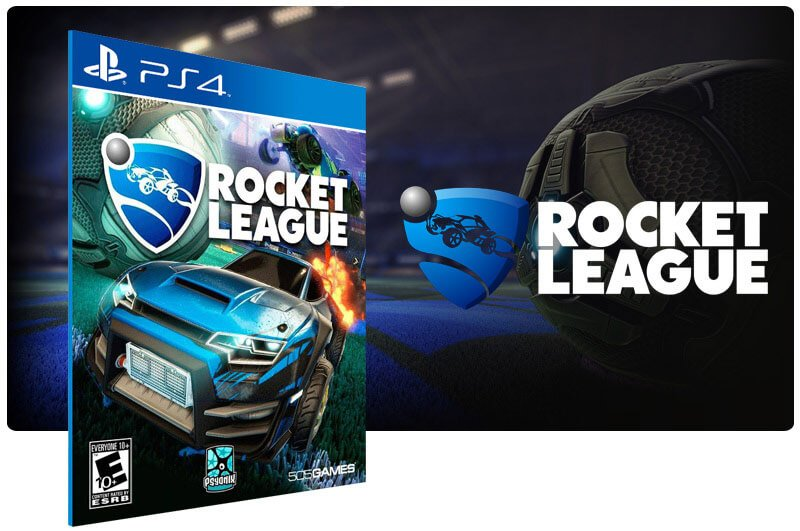 Banner do game Rocket League para PS4