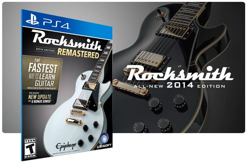 Banner do game Rocksmith 2014 Edition Remastered para PS4