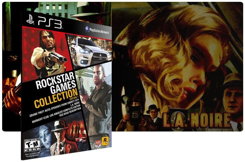 Banner do game Rockstar Games Collection Edition 1 para PS3