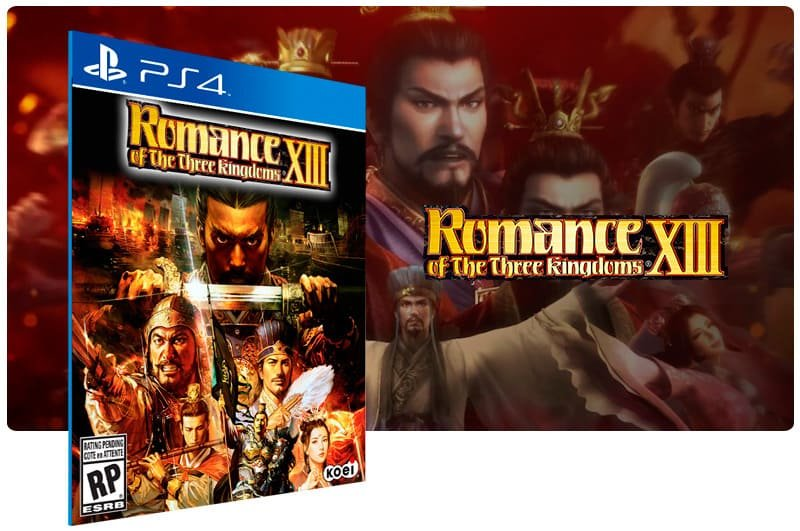 Banner do game Romance Of The Three Kingdoms 13 para PS4