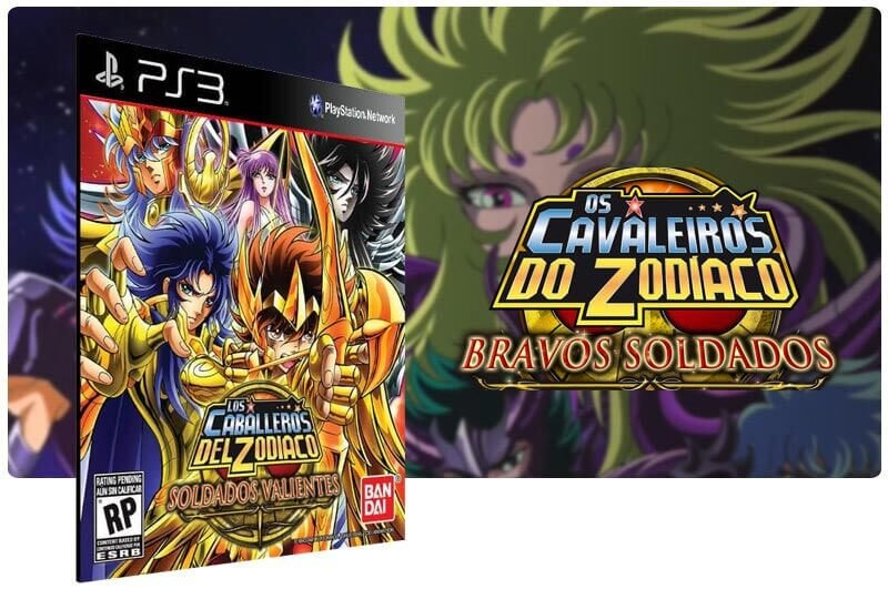 Banner do game Saint Seiya Brave Soldiers para PS3