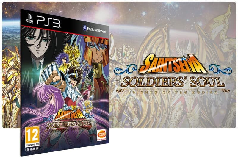Banner do game Saint Seiya Soldiers' Soul para PS3