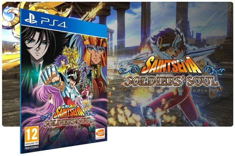 Banner do game Saint Seiya Soldiers' Soul para PS4