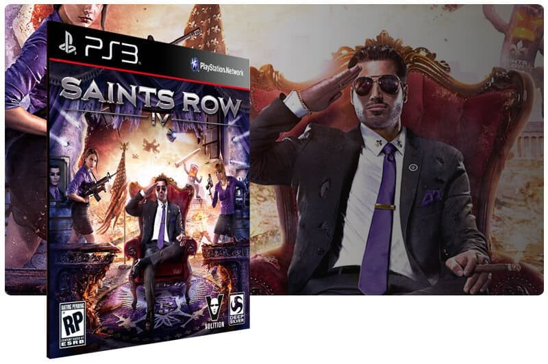 Banner do game Saints Row IV para PS3