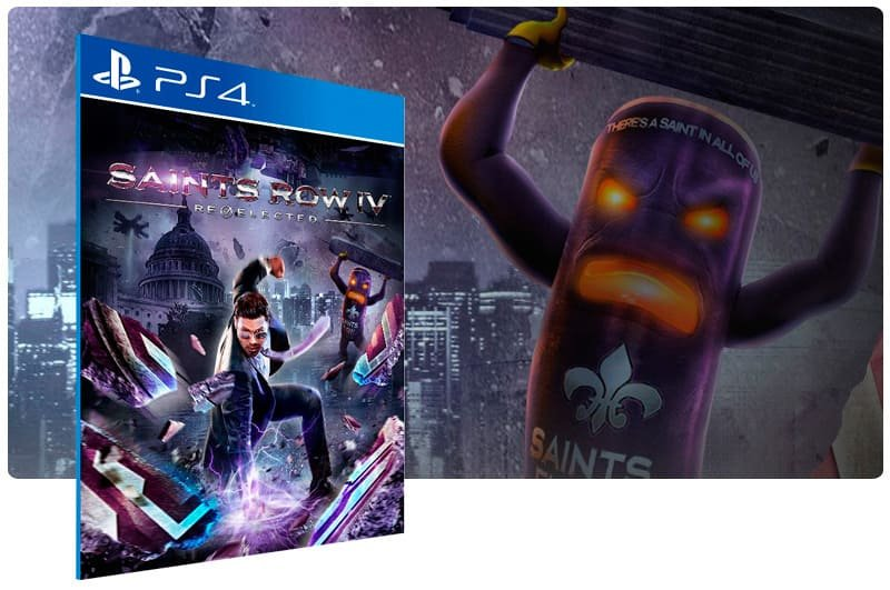 Banner do game Saints Row Re Elected para PS4
