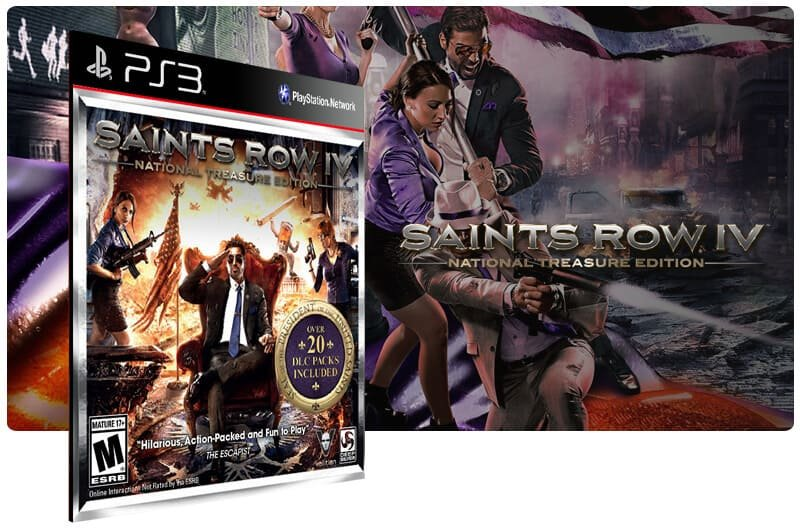 Banner do game Saints Row Treasure para PS3