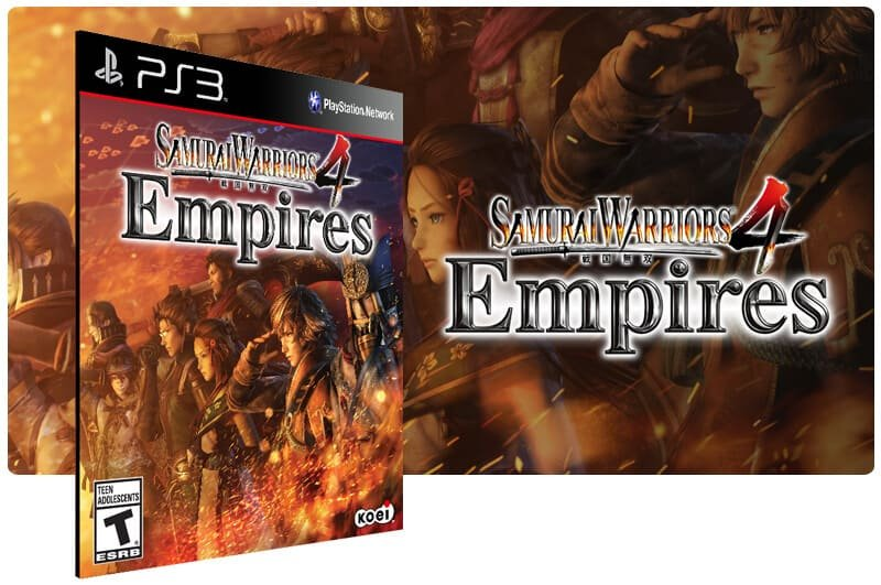 Banner do game Samurai Warriors 4 Empires para PS3