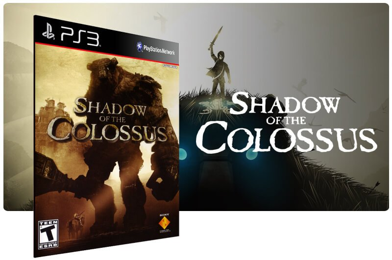 Banner do game Shadow of the Colossus para PS3