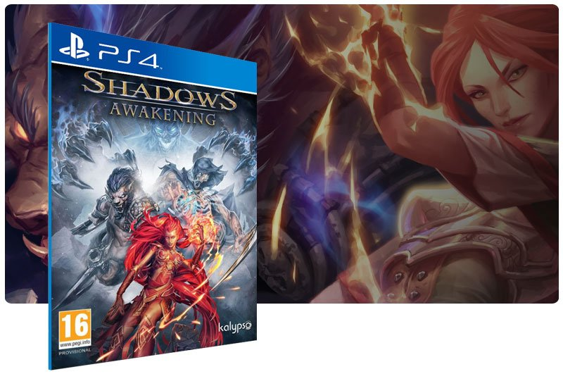 Banner do game Shadows Awakening para PS4