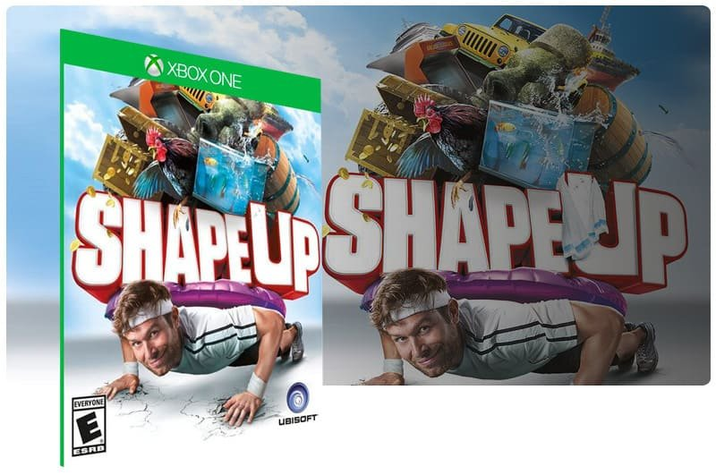 Banner do game Shape Up Gold Edition em mídia digital para Xbox One