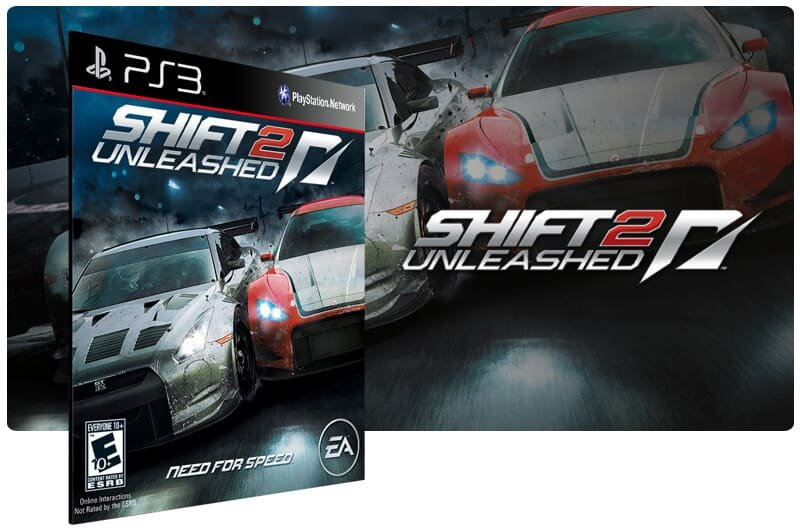 Banner do game Shift 2 Unleashed para PS3