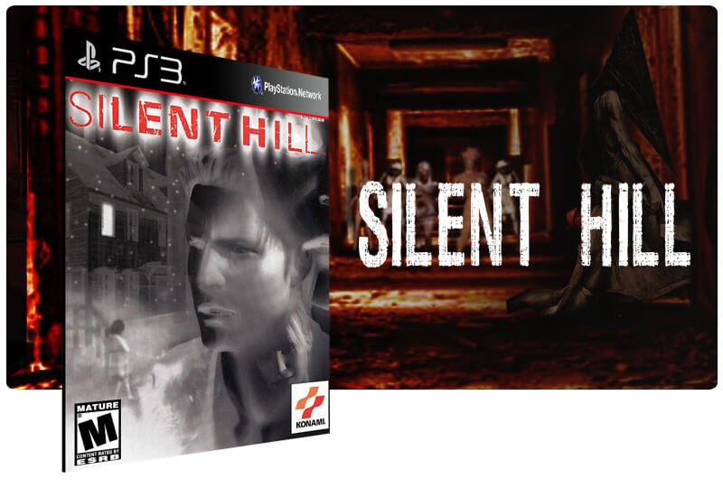 Banner do game Silent Hill Classic para PS3