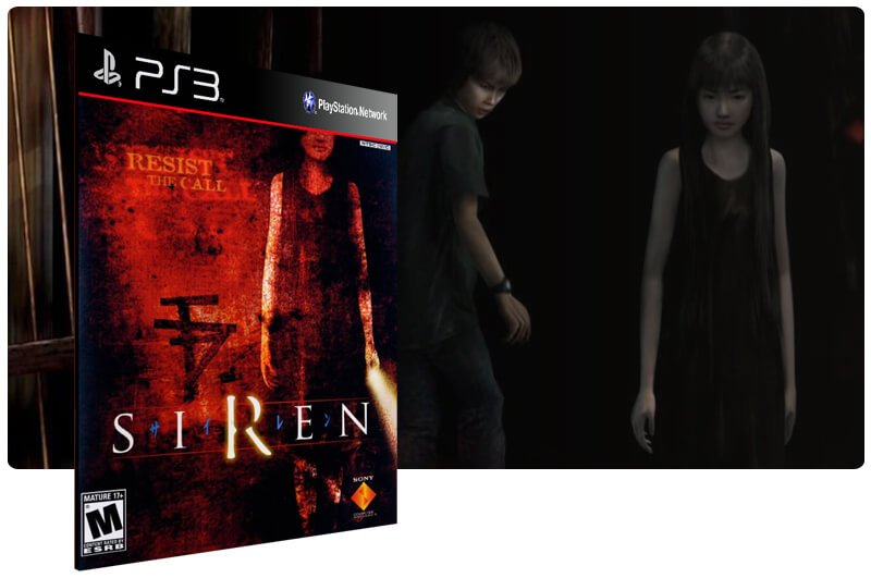 Banner do game Siren (Ps2 Classic) para PS3