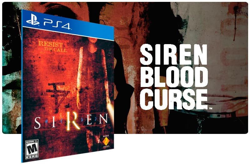 Banner do game Siren para PS4