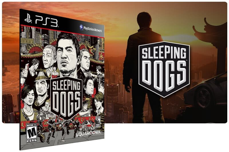 Banner do game Sleeping Dogs para PS3