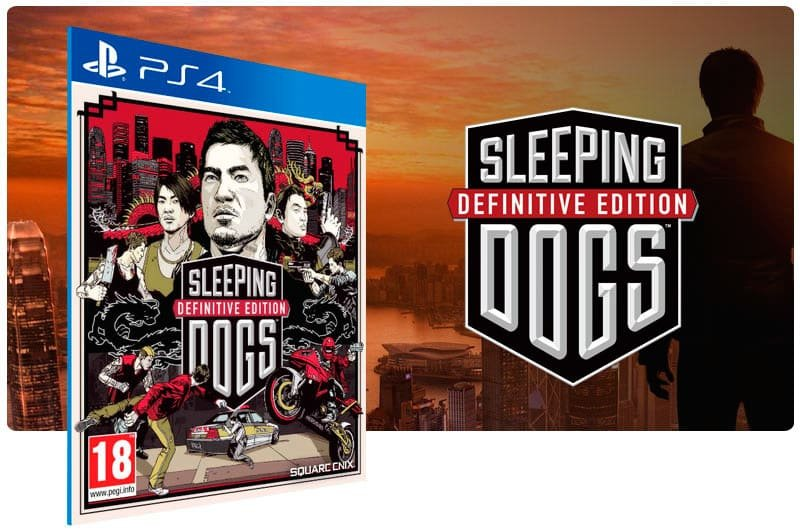 Banner do game Sleeping Dogs Definitive Edition para PS4