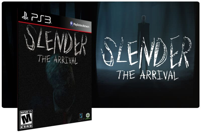 Banner do game Slender The Arrival para PS3