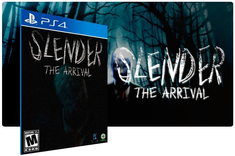 Banner do game Slender The Arrival para PS4