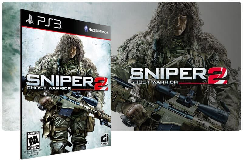 Banner do game Sniper Ghost Warrior 2 para PS3