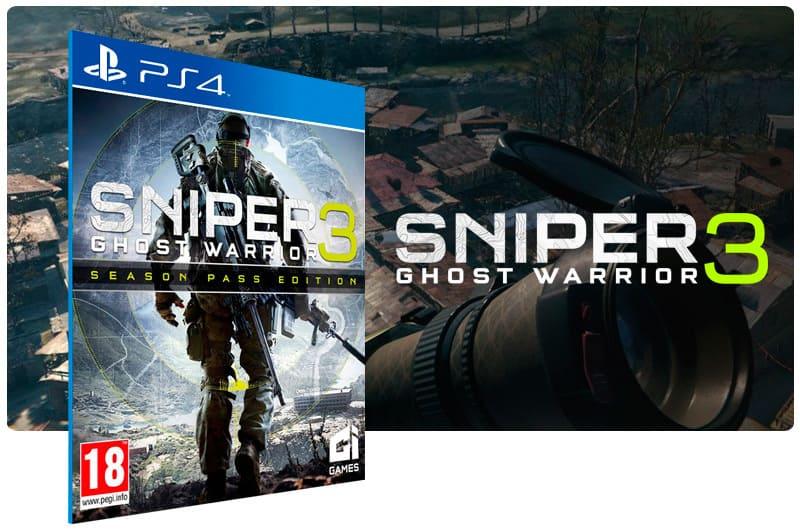 Banner do game Sniper Ghost Warrior 3 Season Pass Edition para PS4