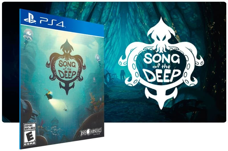 Banner do game Song Of The Deep para PS4